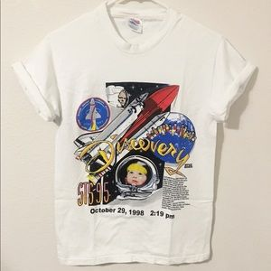 Space shuttle tshirt